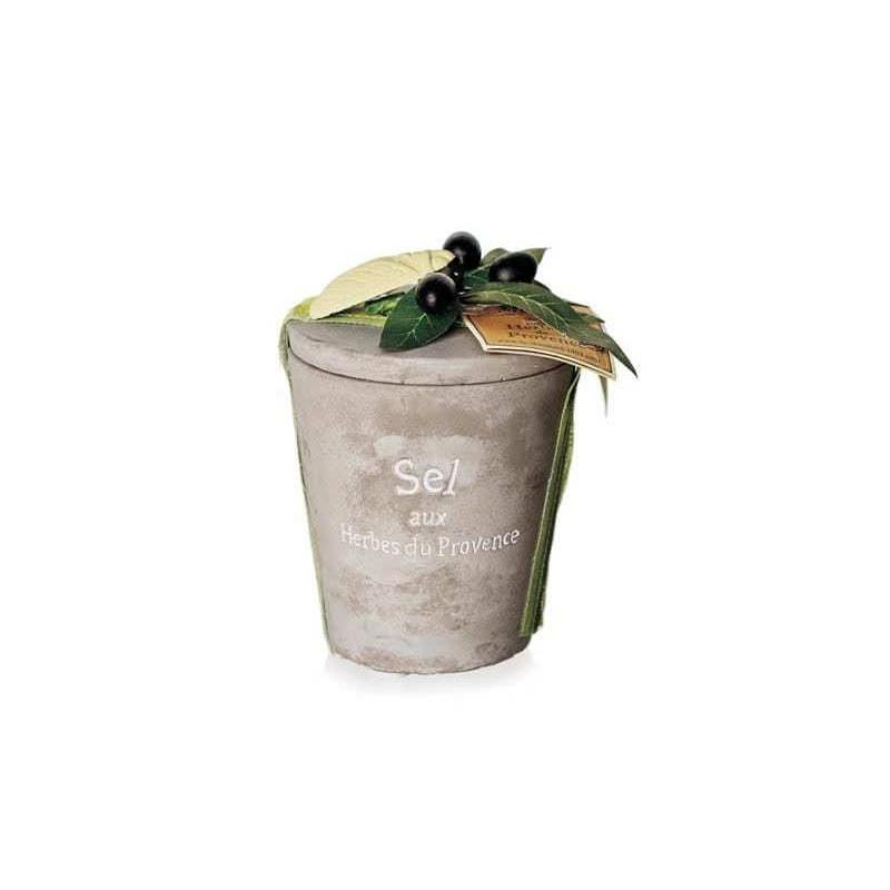Sare cu Ierburi de Provence, vas ceramic 200g