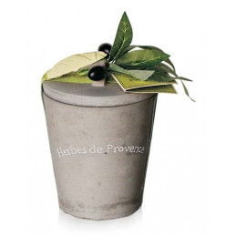Ierburi de Provence 50g Vas Ceramic Cadou Le Chatelard 1802