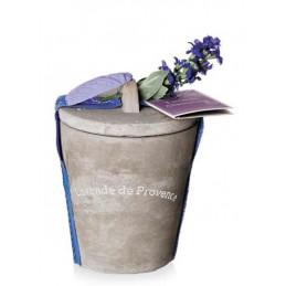 Ceai Lavanda Alimentara de Provence 25g Vas Ceramic Cadou Le Chatelard 1802