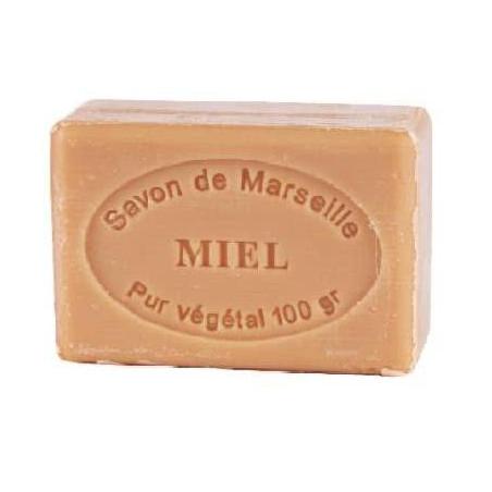 Sapun natural de Marsilia cu MIERE, 100g / savon de Marseille miel