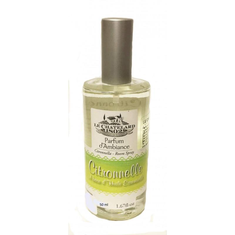 Odorizant de camera spray cu LAMAITA (citronnelle)