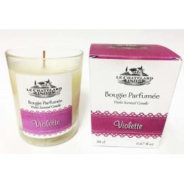 Lumanare parfumata VIOLETE, naturala