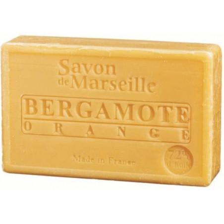 Sapun natural de Marsilia cu BERGAMOTA si PORTOCALE, 100g / savon de Marseille bergamote orange