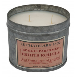 Lumanare parfumata naturala cu FRUCTE ROSII (fruits rouges)