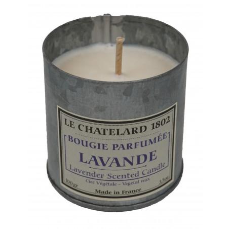 Lumanare parfumata naturala cu LAVANDA, 100g / bougie parfumée Lavande