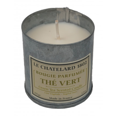 Lumanare parfumata naturala cu CEAI VERDE, 100g / bougie parfumée The Vert