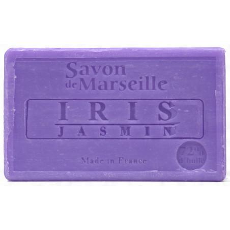 Sapun natural de Marsilia cu IRIS si IASOMIE, 100g / savon de Marseille iris jasmin