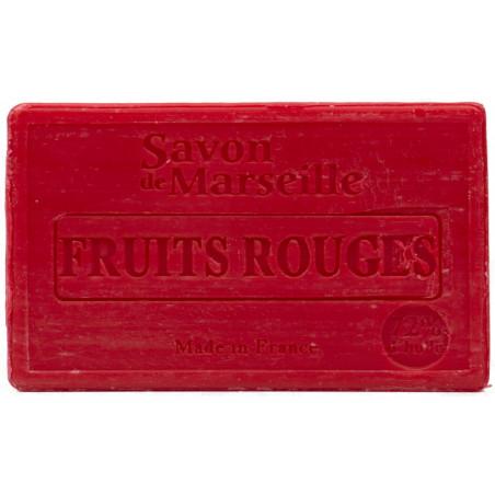 Sapun natural de Marsilia cu FRUCTE ROSII, 100g / savon de Marseille fruits rouges