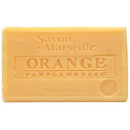 Sapun natural de Marsilia cu PORTOCALA si GRAPEFRUIT, 100g / savon de Marseille  orange pamplemousse
