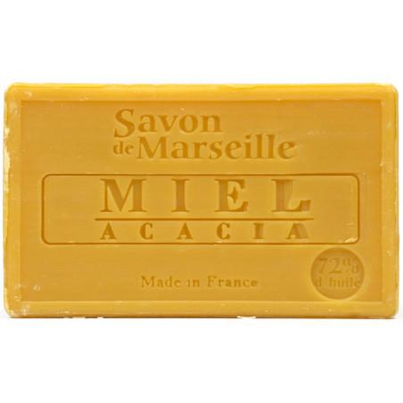 Sapun natural de Marsilia cu MIERE de ACACIA, 100g / savon de Marseille miel accacia