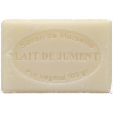 Sapun natural de Marsilia cu LAPTE de IAPA, 100g / savon de Marseille lait de jument