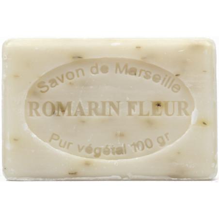 Sapun natural de Marsilia cu ROZMARIN, exfoliant, 100g / savon de Marseille romarin
