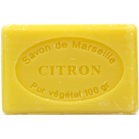 Sapun natural de Marsilia cu LAMAIE,100g / savon de Marseille citron