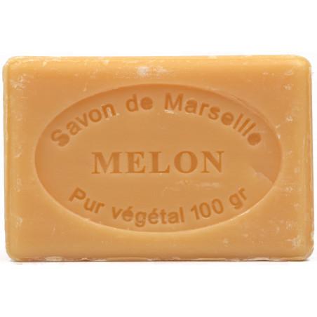 Sapun natural de Marsilia cu PEPENE GALBEN, 100g / savon de Marseille melon