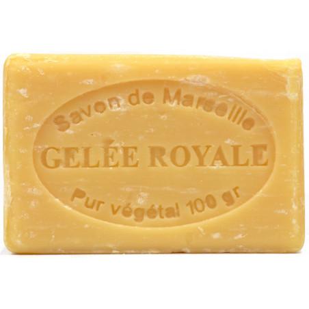 Sapun natural de Marsilia cu LAPTISOR de MATCA, 100g / savon de Marseille gelee royale