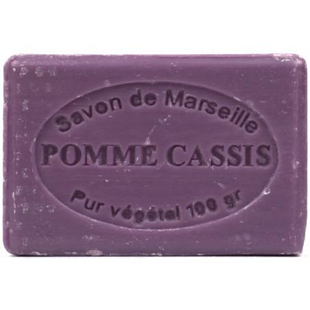 Sapun natural de Marsilia cu MERE si COACAZE, 100g / savon de Marseille pomme cassis