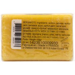 Sapun natural cu BERGAMOTA, eticheta