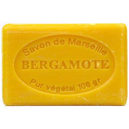 Sapun natural de Marsilia cu BERGAMOTA, 100g / savon de Marseille bergamote
