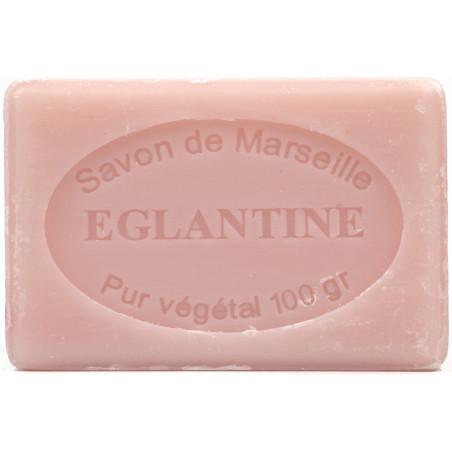 Sapun natural de Marsilia cu MACESE, 100g / savon de Marseille eglantine