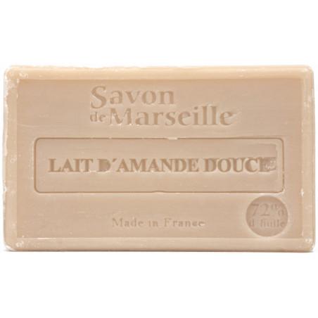 Sapun natural de Marsilia cu LAPTE de MIGDALE DULCI, 100g / savon de Marseille lait d'amande douce