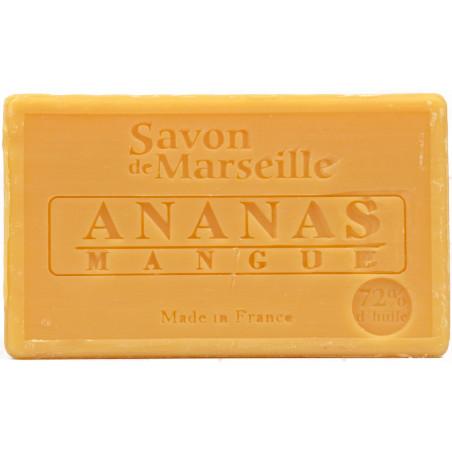 Sapun natural de Marsilia cu ANANAS si MANGO, 100g / savon de Marseille ananas mangue