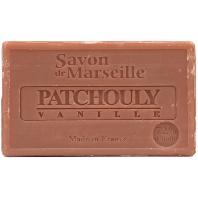 Sapun Natural de Marsilia 100g Patchouly-Vanille Paciuli-Vanilie Le Chatelard 1802