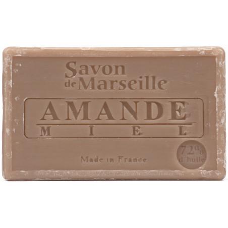 Sapun natural de Marsilia cu MIGDALE si MIERE, 100g / savon de Marseille amande miel