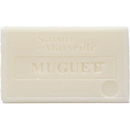 Sapun natural de Marsilia cu LACRAMIOARE, 100g / savon de Marseille muguet