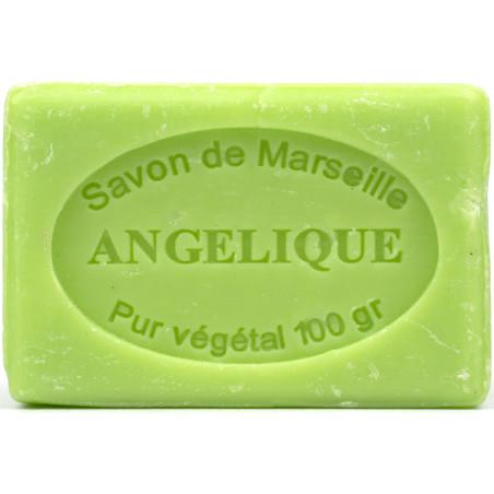 Sapun natural de Marsilia cu ANGELICA, 100g / savon de Marseille angelique