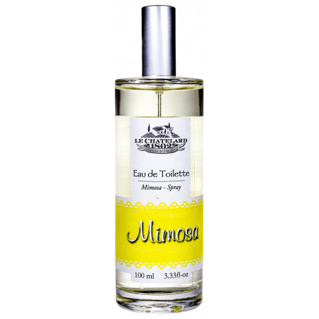 Apă de toaletă cu parfum de MIMOZA, 100ml - produs natural / eau de toilette mimosa