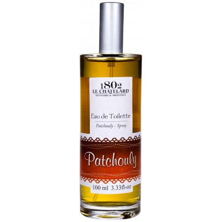 Apă de toaletă cu parfum de PACIULI, 100ml - produs natural / eau de toilette patchouly