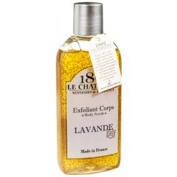 Gomaj exfoliant natural cu lavanda, recipient