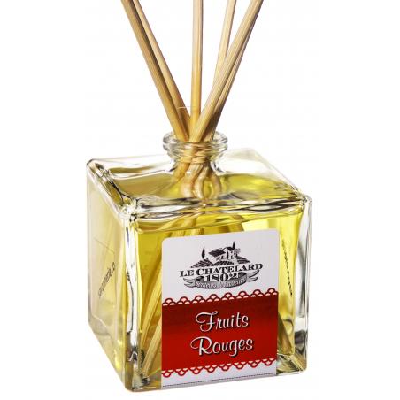 Odorizant de camera cu betisoare FRUCTE ROSII, 100ml / diffuseur de parfum fruits rouges