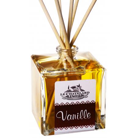 Odorizant de camera cu betisoare VANILIE, 100ml / diffuseur de parfum vanille