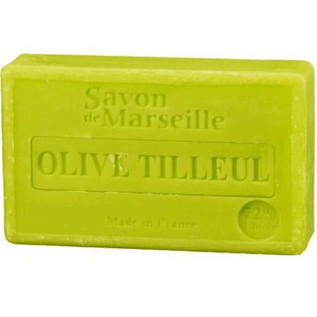 Sapun cu MASLINE si FLORI de TEI, 100g / savon de Marseille olive tilleul