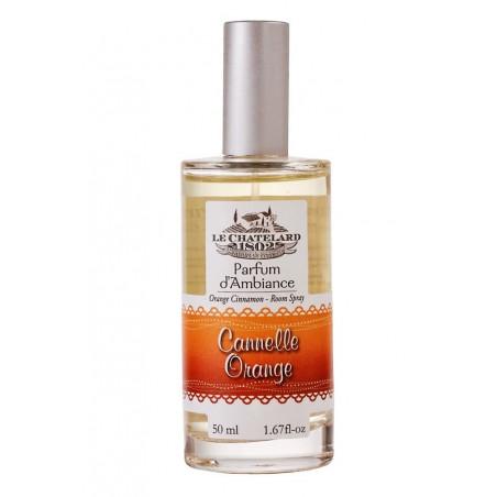 Odorizant de camera spray SCORTISOARA PORTOCALE, 50ml / vaporisateur cannelle orange