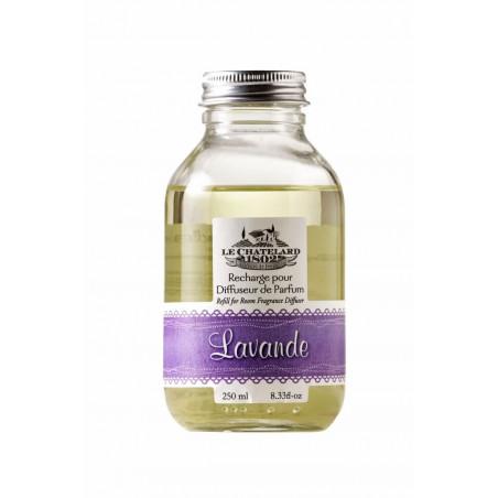 Rezerva parfum de LAVANDA pentru odorizant cu betisoare, 250ml