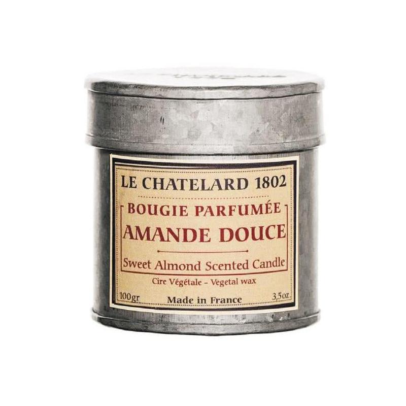 Lumanare parfumata naturala cu MIGDALE DULCI (amande douce)