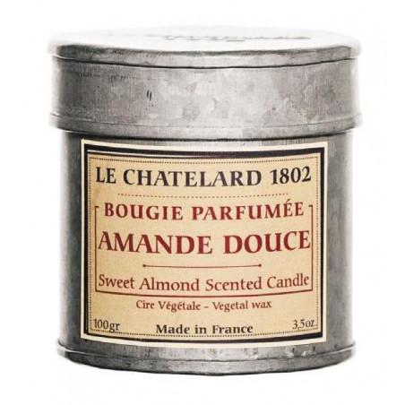 Lumanare parfumata naturala cu MIGDALE DULCI, 100g / bougie parfumée Amande Douce