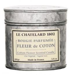 Lumanare parfumata naturala cu BUMBAC (fleur de coton)